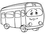 Раскраски детских автобусов