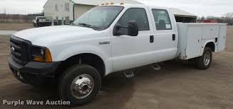 2007 Ford F350 Super Duty Crew Cab utility bed pickup truck ...