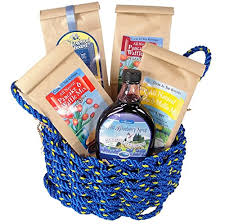 new england gourmet breakfast in a maine lobster rope gift basket in uae misc s in the uae see s reviews and free delivery