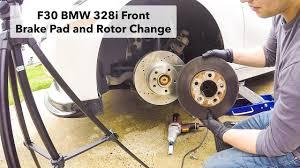 BMW 5 Series best brake pads for bmw : F30 BMW 328i 2013 Brake Pads, Rotors and Wear Sensor Change (Hawk ...