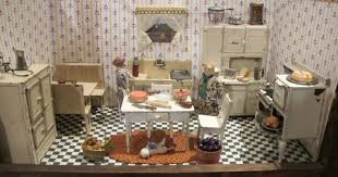 Kitchen Dollhouse Furniture Arcade Toys For The Dollhouse A 1920s Kitchen By Susan Hale