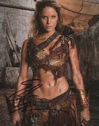 Amazon.co.jp: Ellen Hollman Signed Autograph Spartacus Saxa 8x10 ...