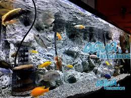 Aquarium Backgrounds Limestone 3d Aquarium Background For 60x30 Fish Tank