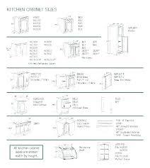Kitchen Cabinet Door Size Chart Standard Kitchen Cabinet Sizes Depth Dimensions Chart