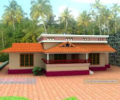 home plan and elevation 1000 sq ft kerala home