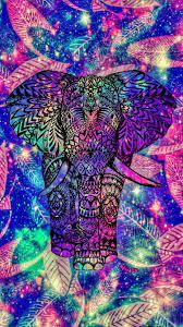 Shimmer Elephant Galaxy Wallpaper ...