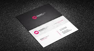 Free Clean Polygon Corporate Business Card Template