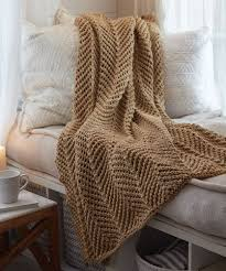 Knit Throw Blanket Pattern