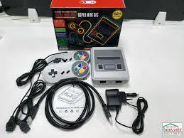 Máy chơi điện tử 4 nút HDMI SNES Super NES 621 trò chơi - Gia Dụng Nhà Việt