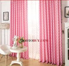 ... Bedroom Pink Polka Dots Curtains Sale. Loading Zoom