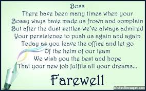 Farewell Messages For Boss Goodbye Quotes For Boss Wishesmessages Com