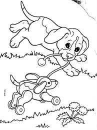 Kids N Fun 12 Kleurplaten Van Puppies