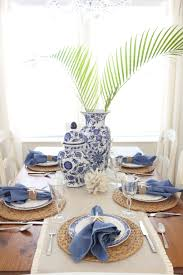 white table settings. Blue And White Table Setting Settings