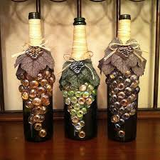 Decorating Empty Wine Bottles Decorated wine bottles Decorated wine bottles Bottle and Decorating 52