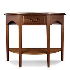 demilune hall table. Leick Demilune Hall Console Table, Medium Oak Table N
