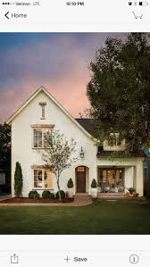 LOVE... painted brick with brick path & porch, white pots ...
