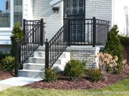 front porch and step railing
