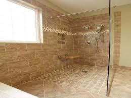 modern doorless walk in shower idea clock door for design charming dimension image picture small bathroom