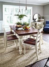 round oak dining table and 6 chairs lovely 16 beautiful french country round dining table and