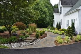 Front Yard Curb Appeal - Huntingtown traditional-landscape