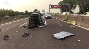 Modena. Incidente tra due camion e un'auto. A1 bloccata