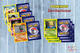 pokemon online birthday invitations birthday card ideas homemade pokemon birthday invitations