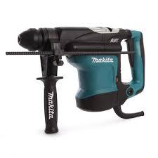 makita hammer drill. makita hr3210c hammer drill sds+ rotary 240v 4