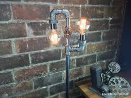industrial lighting bare bulb light fixtures. Multi Bulb Edison Floor Lamp - Industrial Style Bare Light Steampunk Lamps Lighting Fixtures