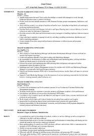 Trade Resume Examples Trade Marketing Resume Samples Velvet Jobs 5