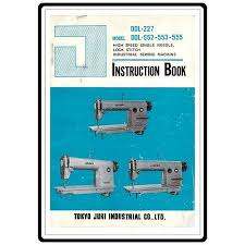 Juki Ddl 555 Sewing Machine Manual