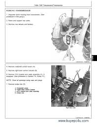 john deere tractors tm pdf the screenshot of the john deere workshop repair manual 4