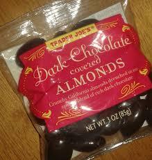trader joe s dark chocolate covered almonds