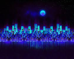 Aesthetic Blue City Wallpapers ...