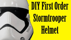 how to make a first order stormtrooper helmet diy