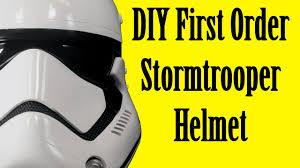how to make a first order stormtrooper helmet diy