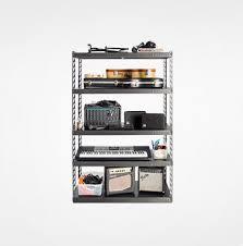48 wide ez connect rack with five 18 deep shelves