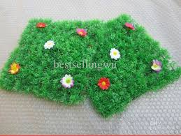 fake grass carpet. 25 X 25CM Artificial Imitation Fake Grass Carpet Plastic Lawn For Garden House Nursery Schools Decoration E