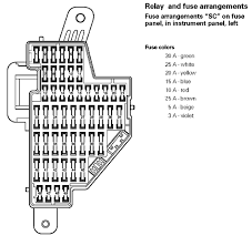 vw cc fuse box wiring diagrams