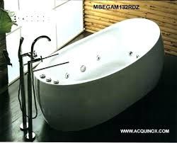 oval freestanding whirlpool tub jetted canada
