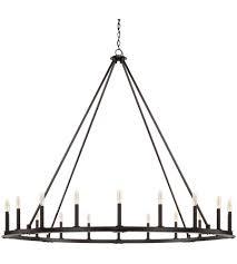 capital lighting 4913bi pearson 20 light 60 inch black iron chandelier ceiling light photo