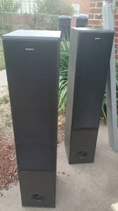 sony tower speakers. sony tower speakers ,memorex 19\u0027 flat screen tv in oklahoma city - letgo