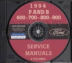 1994 ford f600 f700 f800 ft900 cab foldout wiring diagram original 1994 ford big truck cd repair shop manual f600 f700 f800 ft900 b600 b700