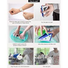 Buy Two Free Shippingglass Double Sided Window Magnetic Clean Non