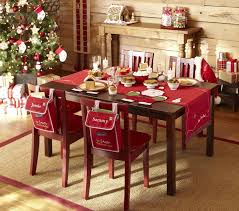 Wonderful Dining Room Decor with Christmas Dinner Decoration Ideas :  Charming Dining Room Ideas With Christmas