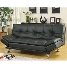 contemporary sofa bed. Contemporary Sofa Coaster Dilleston Black Contemporary Sofa Bed Futon On U