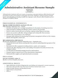 Executive Level Resume Samples Classy Executive Assistant Resume Skills Nmdnconference Example