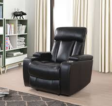 the evan top grain leather power recliner with power headrest by abbyson is a must have for your entertainment area or casual living room with its easy