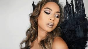 dark angel easy glitter makeup 2017