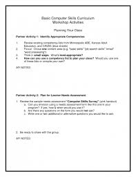 Computer Skill For Resume List Of Computer Skills For Resume Andone Brianstern Co