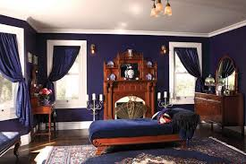 Navy Blue Bedroom Curtains Cute Picture Of Boy Blue Victorian Bedroom Decoration Using Navy